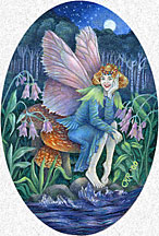 Chimingbell Fairy Painting
